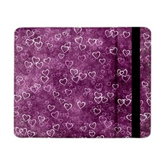 Heart Pattern Samsung Galaxy Tab Pro 8 4  Flip Case by ValentinaDesign
