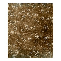 Heart Pattern Shower Curtain 60  X 72  (medium)  by ValentinaDesign