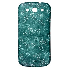 Heart Pattern Samsung Galaxy S3 S Iii Classic Hardshell Back Case by ValentinaDesign