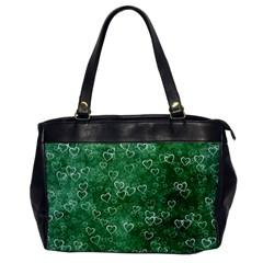 Heart Pattern Office Handbags by ValentinaDesign