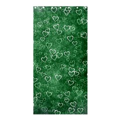 Heart Pattern Shower Curtain 36  X 72  (stall)  by ValentinaDesign
