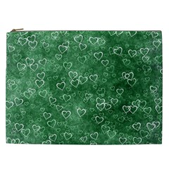 Heart Pattern Cosmetic Bag (xxl)  by ValentinaDesign
