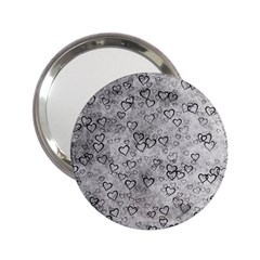 Heart Pattern 2 25  Handbag Mirrors by ValentinaDesign