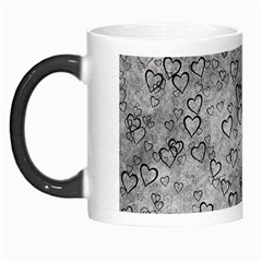 Heart Pattern Morph Mugs by ValentinaDesign