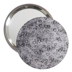 Heart Pattern 3  Handbag Mirrors by ValentinaDesign