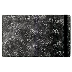 Heart Pattern Apple Ipad 2 Flip Case by ValentinaDesign
