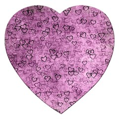 Heart Pattern Jigsaw Puzzle (heart) by ValentinaDesign
