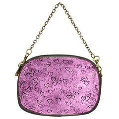 Heart Pattern Chain Purses (one Side)  by ValentinaDesign