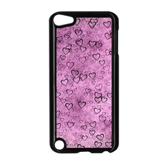 Heart Pattern Apple Ipod Touch 5 Case (black) by ValentinaDesign