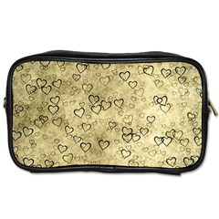 Heart Pattern Toiletries Bags by ValentinaDesign