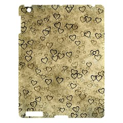 Heart Pattern Apple Ipad 3/4 Hardshell Case by ValentinaDesign