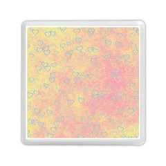 Heart Pattern Memory Card Reader (square)  by ValentinaDesign