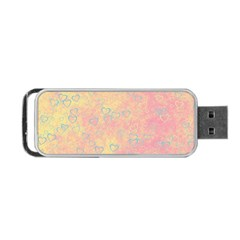 Heart Pattern Portable Usb Flash (two Sides) by ValentinaDesign