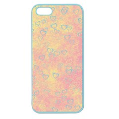 Heart Pattern Apple Seamless Iphone 5 Case (color) by ValentinaDesign