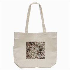 Heart Pattern Tote Bag (cream) by ValentinaDesign