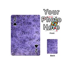 Heart Pattern Playing Cards 54 (mini)  by ValentinaDesign