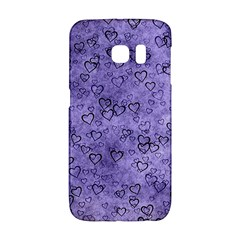 Heart Pattern Galaxy S6 Edge by ValentinaDesign