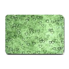 Heart Pattern Small Doormat  by ValentinaDesign