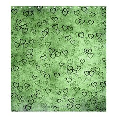 Heart Pattern Shower Curtain 66  X 72  (large)  by ValentinaDesign