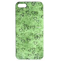 Heart Pattern Apple Iphone 5 Hardshell Case With Stand by ValentinaDesign