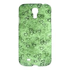Heart Pattern Samsung Galaxy S4 I9500/i9505 Hardshell Case by ValentinaDesign