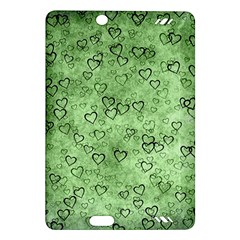 Heart Pattern Amazon Kindle Fire Hd (2013) Hardshell Case by ValentinaDesign