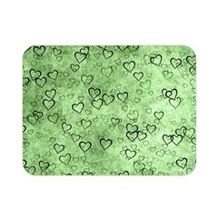 Heart Pattern Double Sided Flano Blanket (mini)  by ValentinaDesign