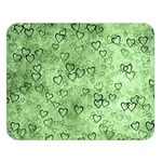 Heart pattern Double Sided Flano Blanket (Large)  80 x60 Blanket Front