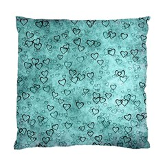 Heart Pattern Standard Cushion Case (one Side) by ValentinaDesign