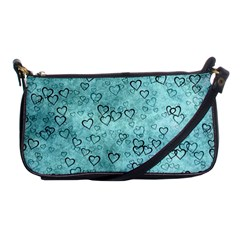 Heart Pattern Shoulder Clutch Bags by ValentinaDesign