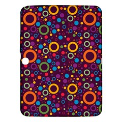 70s Pattern Samsung Galaxy Tab 3 (10 1 ) P5200 Hardshell Case  by ValentinaDesign