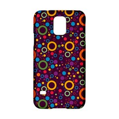70s Pattern Samsung Galaxy S5 Hardshell Case  by ValentinaDesign