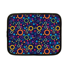 70s Pattern Netbook Case (small)  by ValentinaDesign