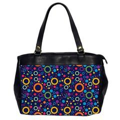 70s Pattern Office Handbags (2 Sides)  by ValentinaDesign