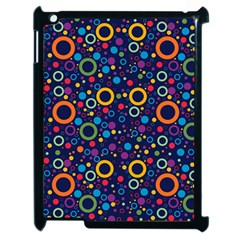 70s Pattern Apple Ipad 2 Case (black) by ValentinaDesign