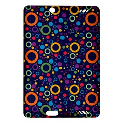 70s Pattern Amazon Kindle Fire Hd (2013) Hardshell Case by ValentinaDesign