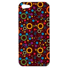 70s Pattern Apple Iphone 5 Hardshell Case by ValentinaDesign