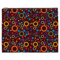 70s Pattern Cosmetic Bag (xxxl)  by ValentinaDesign