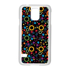 70s Pattern Samsung Galaxy S5 Case (white) by ValentinaDesign