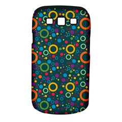 70s Pattern Samsung Galaxy S Iii Classic Hardshell Case (pc+silicone) by ValentinaDesign