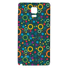 70s Pattern Galaxy Note 4 Back Case by ValentinaDesign