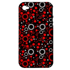 70s Pattern Apple Iphone 4/4s Hardshell Case (pc+silicone) by ValentinaDesign