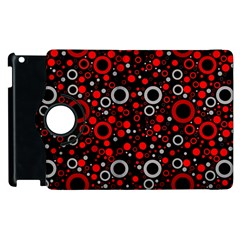 70s Pattern Apple Ipad 2 Flip 360 Case by ValentinaDesign