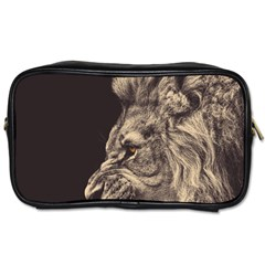 Angry Male Lion Toiletries Bags 2 Side by Zhezhe