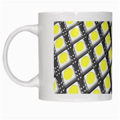 Wafer Size Figure White Mugs by Mariart