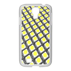 Wafer Size Figure Samsung Galaxy S4 I9500/ I9505 Case (white) by Mariart