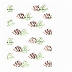 Pinecone Pattern Small Garden Flag (two Sides) by Mariart