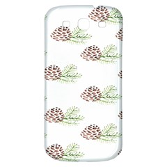 Pinecone Pattern Samsung Galaxy S3 S Iii Classic Hardshell Back Case by Mariart