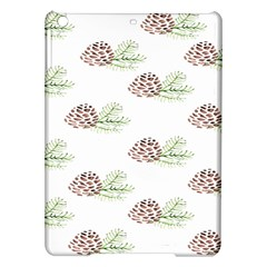 Pinecone Pattern Ipad Air Hardshell Cases by Mariart