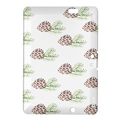 Pinecone Pattern Kindle Fire Hdx 8 9  Hardshell Case by Mariart